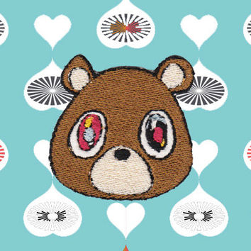Kanye West Bear Patch (FREE SHIPPING)