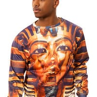 The Pharaoh Crewneck in Gold