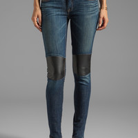 TEXTILE Elizabeth and James Tommy Skinny with Leather Knee Patch in Festival from REVOLVEclothing.com