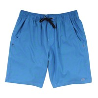 Chillaxer Stretch Shorts in Topographic by Waters Bluff