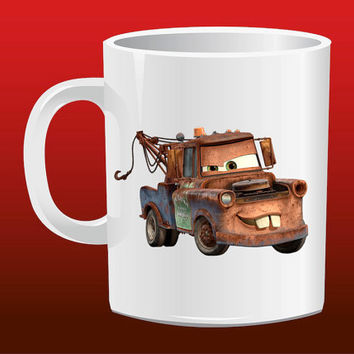 Lightning McQueen Mater for Mug Design
