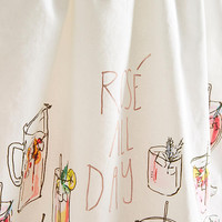 Rose All Day Tea Towel