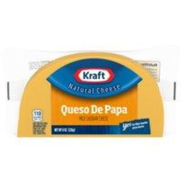 Kraft Natural Cheese Medium Cheddar 8 OZ