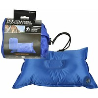 Self Inflatable Back Packing Pillow