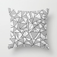 Abstract Spots Throw Pillow by Project M | Society6