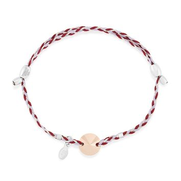 Crystal Rose Gold Precious Threads Bracelet