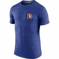 Denver Broncos Nike Rewind Cut Back T-Shirt – Royal Blue