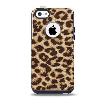 The Simple Vector Cheetah Print Skin for the iPhone 5c OtterBox Commuter Case