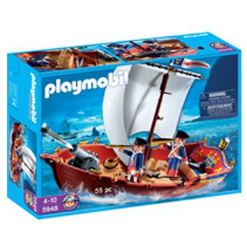 Playmobil Soldiers' Boat Set - 5948
