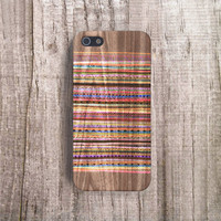 AZTEC stripe iPhone Case Aztec iPhone 4 Case, Geometric Cases Stripe iPhone 5C Case, Tribal iPhone Case Samsung S5 Case Wood Print
