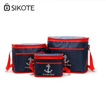 SIKOTE Portable 38L Cooler Bag For Food Preservation Storage Picnic Thermal Bags Travel Women Lunch Bags Koeltas Sac Isotherme