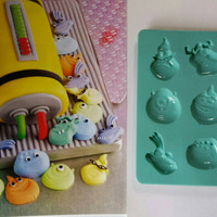 Monsters inc Baking Mold, scully and  mike Mold, Disney Cake Mold, Birthday Cake Mold, monsters inc Chocolate Mold,Disney Chocolate Mold boo