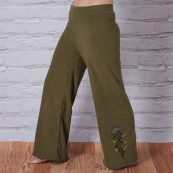 Fleece Lotus Pants