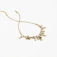 J.Crew Womens Long Crystal Necklace