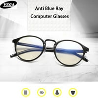 VEGA Fashion Eye Fatigue Glasses For Computer Protection Glasses Anti Blue Ray PC Eyeglasses Computer Glasses UV400 8609