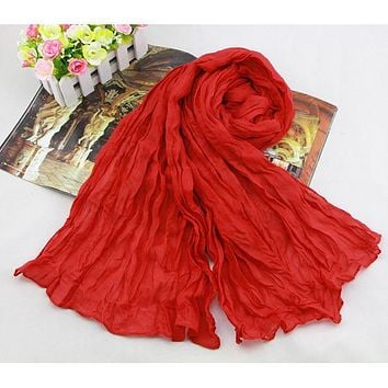 Summer Sunscreen Candy Hot Head Scarf Women's Shawls and Scarves