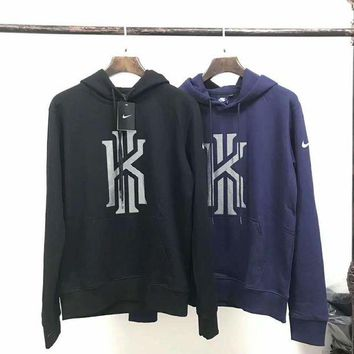 VXL8HQ NIKE' Casual Fashion Long Sleeve Hooded Logo Print Long Sleeve Sweater G-A-GHSY-1