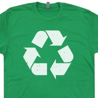 Recycle Symbol T Shirt Vintage Recycle T Shirt Recycle Logo Shirt