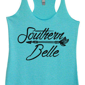 http://www.BurnoutTankTops.com/products/Womens Fashion-Triblend-tank-top-southern-belle-tri-1389