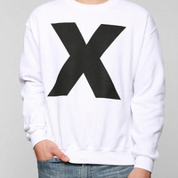 X Icon Pullover Sweatshirt  - Urban Outfitters