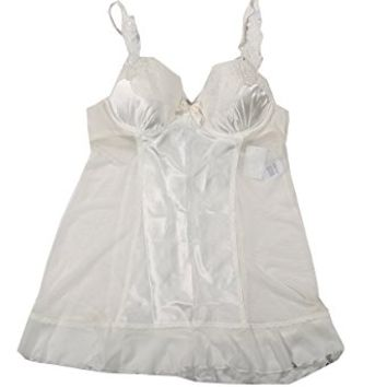 Linea Donatella Ivory Babydoll Medium Lingerie Set