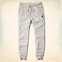 Hollister Fleece Moto Jogger Pants
