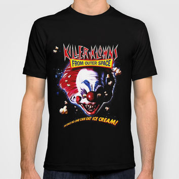 killer klowns from outer space T-shirt by Official Nicolas Cage Cats