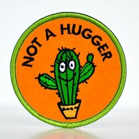 Not a Hugger... Patch.