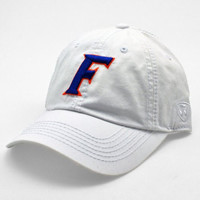 Florida Gators Official NCAA Adult Adjustable Cotton Crew Hat Cap by Top Of The World