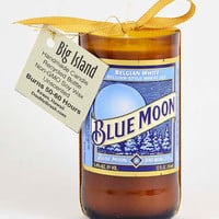 Blue Moon Belgian White Collector's Bottle Candle