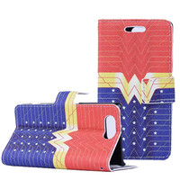 Wonder Woman Wallet S Case Premium Wallet Case with STAND Flip Cover for iPhone 6/6s PLUS (5.5-inch)