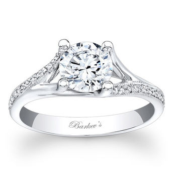 Barkev's Split Shank Diamond Engagement Ring