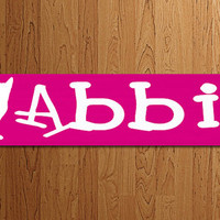 Pet Name Sign Wood Custom Personalized Plaque Cat Dog House Sign Wood Art