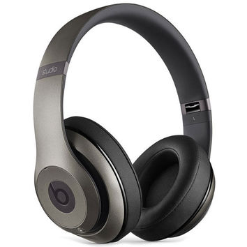 Beats By Dre Studio 2 Headphones Titanium One Size For Men 24856419101