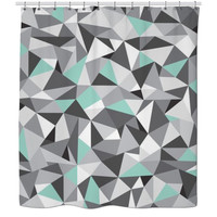 Diamond Design Shower Curtain