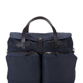 Filson Tin Cloth Briefcase - Navy
