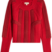 Pullover with Wool and Cashmere - Burberry | WOMEN | KR STYLEBOP.COM