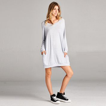 Baby French Terry Sweatshirt Dress