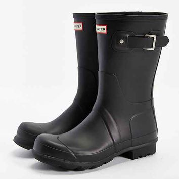 Hunter Original Short Boot- Black