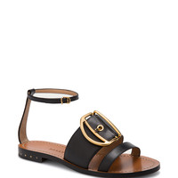 Leather Sandal In Black | Moda Operandi