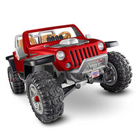 Power Wheels Jeep Hurricane Ride-on - Red - Power Wheels 1022146 - Powered Riding Toys - FAO Schwarz®