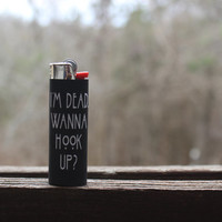 "American Horror Story: ""I'm Dead. Wanna Hook Up?"" Full Size Lighter"