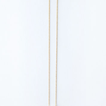 Rosie Gold Heart Dainty Necklace