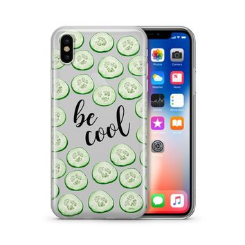 Be Cool' - Clear Case Cover