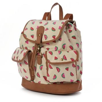 Candie's Watermelon Cargo Backpack