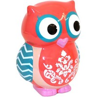 Owl Scroll Piggy Bank - Walmart.com