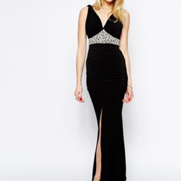 Jessica Wright Belle Maxi Dress with Embellishment
