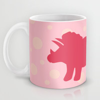 Triceratops Dino Mug by LookHUMAN