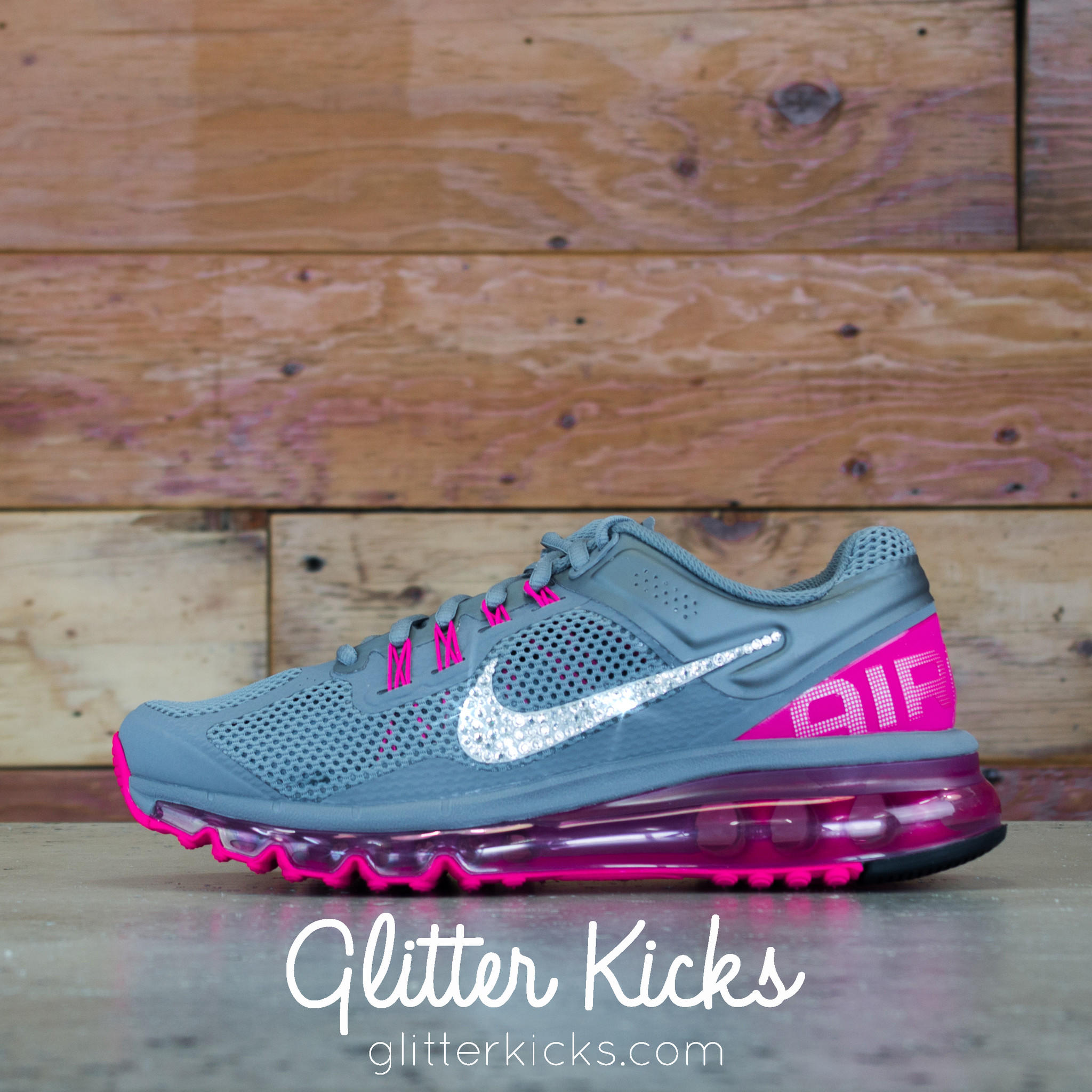 Women s Nike Air Max 360 Running Shoes By from Glitter Kicks 193d48117f