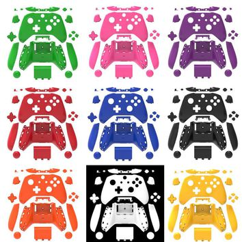 for Xbox One Slim Replacement Full Shell And Buttons Mod Kit Matte Colors Controller Custom Cover Hoursing For Xbox One S Slim